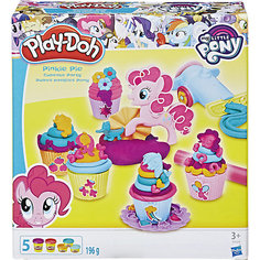 """Игровой набор """"Вечеринка Пинки Пай"""", My little Pony, Play-Doh Hasbro"""