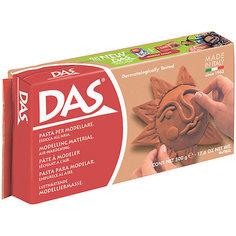 Масса для моделирования на основе натуральной глины, терракотовая, 500 г DAS