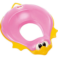 Накладка на унитаз, Ducka, Ok Baby, розовый