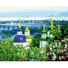 """Роспись по номерам """"Церкви и город"""" 40*50 см Tukzar"""