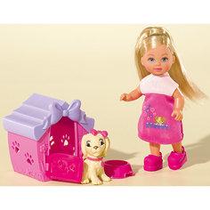 """Кукла """"Еви с собачкой в домике"""", 12 см, Simba"""