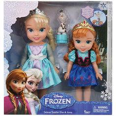 """Игровой набор """"2 куклы и Олаф"""", Холодное Сердце Disney"""