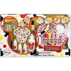 """Набор детской декоративной косметики для ногтей """"Minnie Mouse"""" Markwins"""