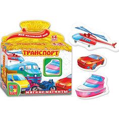 """Игра на магнитах """"Транспорт"""", Vladi Toys"""