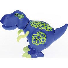 Динозавр Troy, синий с желтыми когтями, DigiBirds Silverlit