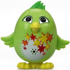 Цыпленок с кольцом Fluff, зеленый, DigiBirds Silverlit