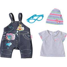 Одежда Джинсовая, BABY born, серая Zapf Creation