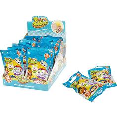 Закрытый пакетик с 2 персонажами-шармами  Bbuddieez, 2 карточки 1 Toy