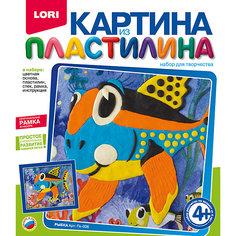 "Картина из пластилина ""Рыбка"" Lori"