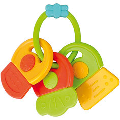 Погремушка-прорезыватель Ключи Символы, 0+, Canpol Babies, зеленый