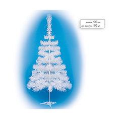 Елка искусственная белая, 90 см Tukzar