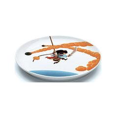 Большая плоская тарелка Пираты, DJECO