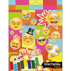 """Пластилин 10 цветов """"Смайлы"""", 200 г Centrum"""