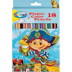 """Цветные карандаши """"Пираты"""", 18 цветов Centrum"""