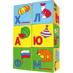 "Кубики ""Азбука в картинках"", Мякиши"