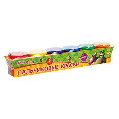 """Пальчиковые краски """"Mаша и медведь"""" Multiart"""