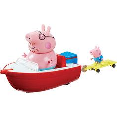 """Игровой набор """"Моторная лодка"""", Peppa Pig Росмэн"""