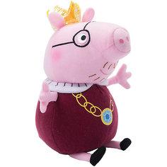 """Мягкая игрушка """"Папа-Свин король"""", 30 см, Peppa Pig Росмэн"""