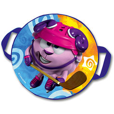 "Санки-ледянки № 07 ""Бараш-хоккеист"", диаметр 45 см"