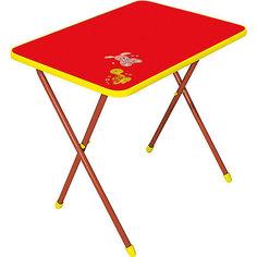 Складной стол СА1. Алина, Ника, красный Nika
