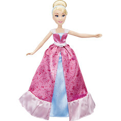 """Модная кукла """"Золушка в роскошном платье-трансформере"""", Принцессы Дисней Hasbro"""