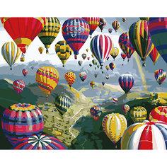 """Роспись по номерам """"Воздушные шары"""" 40*50 см Tukzar"""