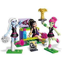 Маленький игровой набор + 3 фигурки MEGA CONSTRUX Monster High Mattel