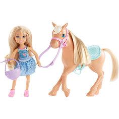 Кукла Челси и пони, Barbie Mattel