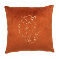 Декоративная подушка Лошадь арт. 1845-1, Small Toys, коричневый СмолТойс