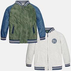 Куртка двухсторонняя для мальчика Mayoral