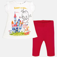 Комплект: футболка и леггинсы для девочки Mayoral