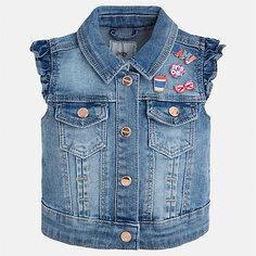 Жилет джинсовый для девочки Mayoral