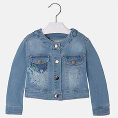 Куртка джинсовая для девочки Mayoral