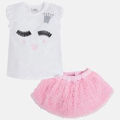 Комплект: топ и юбка для девочки Mayoral