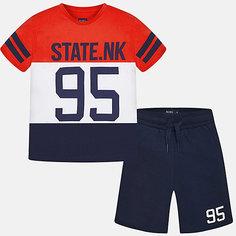 Комплект: футболка и шорты для мальчика Mayoral
