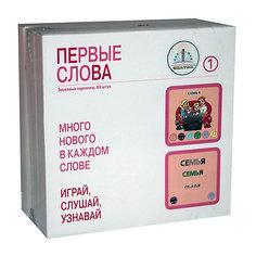 """Набор карточек """"Первые слова"""" 205 шт Знаток"""