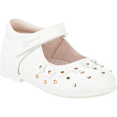 Туфли для девочки KAPIKA, белый
