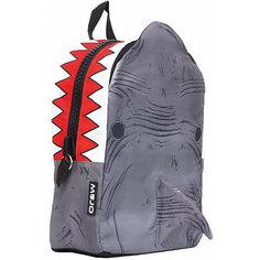"Рюкзак ""Shark 3D"", цвет серый/мульти Mojo PAX"