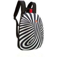 Рюкзак SHELL BACKPACKS, цвет черный/белый Zipit