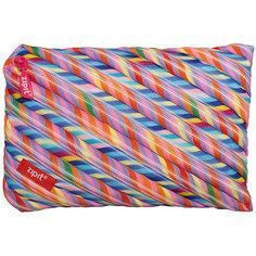 Пенал-сумочка COLORS JUMBO POUCH, цвет мульти полоски Zipit