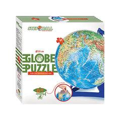 """Пазл-шар """" Физическая карта мира"""", 540 деталей"""