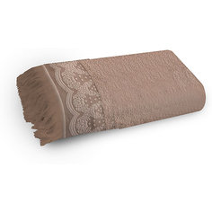 Полотенце махровое 50*90 Белладжио, Cozy Home, бежевый