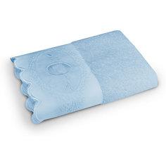Полотенце махровое 50*90 Жаклин, Cozy Home, голубой