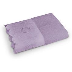 Полотенце махровое 50*90 Жаклин, Cozy Home, лиловый