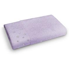 Полотенце махровое 50*90 Звездопад, Cozy Home, лиловый