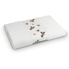 Полотенце махровое 50*90 Розали, Cozy Home, белый