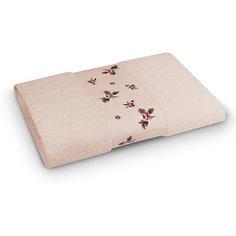 Полотенце махровое 50*90 Розали, Cozy Home, слоновая кость