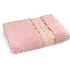 Полотенце махровое 70*140 бамбук, Cozy Home, розовый