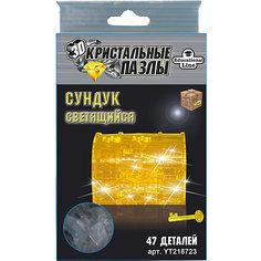 Кристаллический пазл-cветильник 3D Сундук L Educational Line