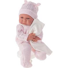 Кукла Ника в розовом, озвученная, 40 см, Munecas Antonio Juan